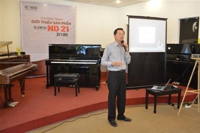 Giới thiệu đàn Piano Kawai ND-21
