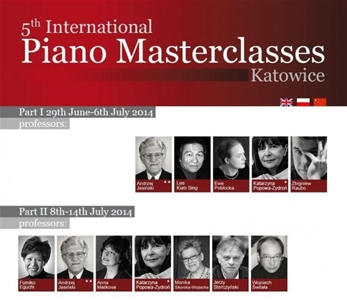 Đào tạo thạc sỹ Piano quốc tế tại Katowice - Ba Lan (Khóa 5)