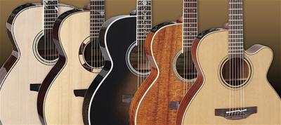 Guitar Takamine dáng NEX - Dáng đàn tuyệt vời nhất của Takamine