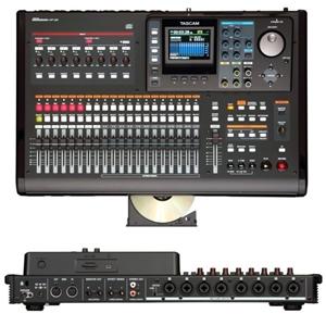 Mixer Tascam DP 24 - Nhỏ gọn nhưng chuyên nghiệp