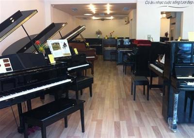 Địa điểm cho thuê phòng tập đàn piano tại tphcm