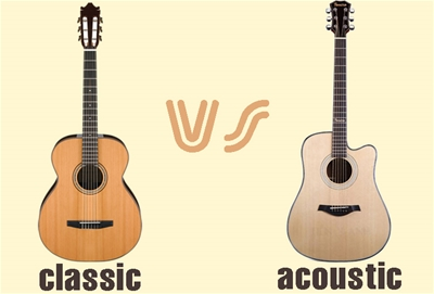 Mới học guitar nên mua đàn classic hay acoustic