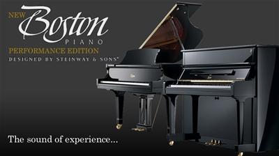 Bảng giá đàn piano Boston mới