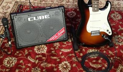 Địa điểm bán ampli guitar roland cube street ex chính hãng ở tphcm