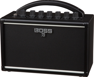 Boss Katana-Mini: Chiếc amplifier nhỏ gọn của gia đình Katana series