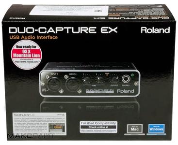Roland giới thiệu DUO-CAPTURE EX – nhỏ gọn và tinh tế.