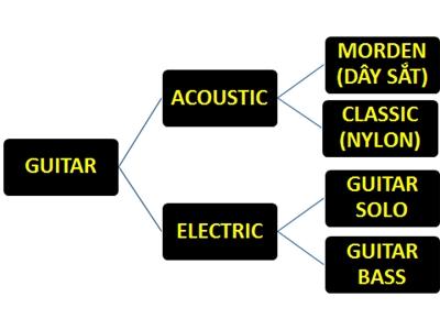 Phân loại các thương hiệu đàn guitar