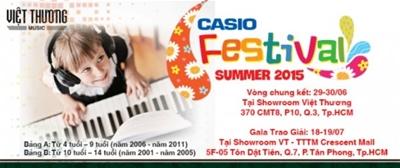 Thể lệ Casio festival 2015