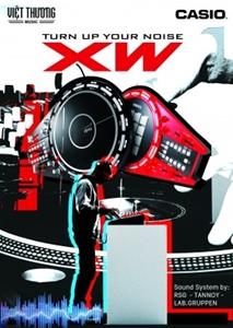 Tin hot cho các DJ – dòng sản phẩm CASIO Track Formers (Kỳ 1)