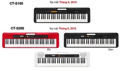 Các dòng đàn organ Casio mới nhất