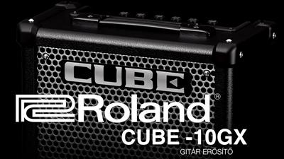 Ampli Roland CUBE 10GX – bạn đường của guitarist.
