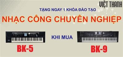 Trở thành nhạc công với Roland Backing Keyboard