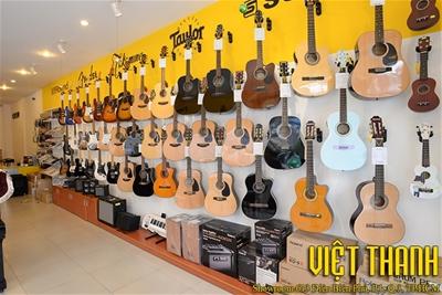 Các phân khúc giá đàn guitar thùng ở thành phố Hồ Chí Minh hiện nay