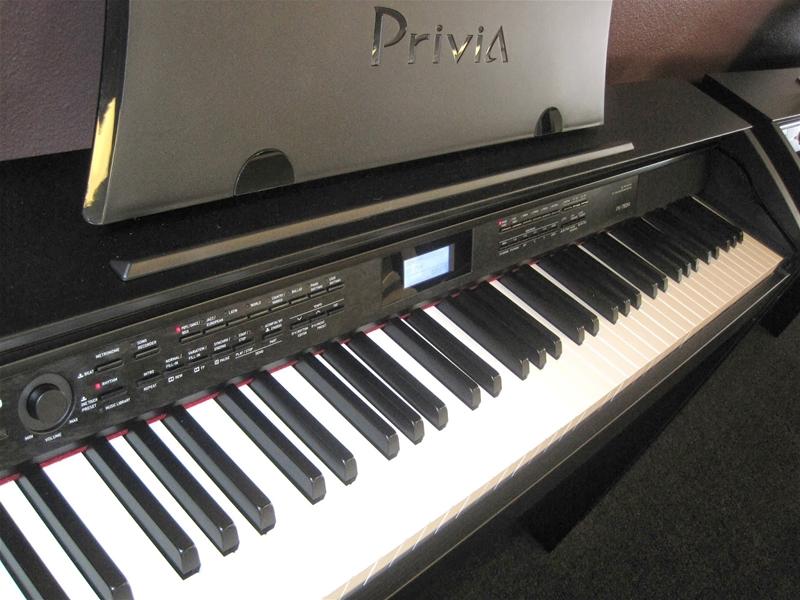 màn hình LCD của đàn piano điện