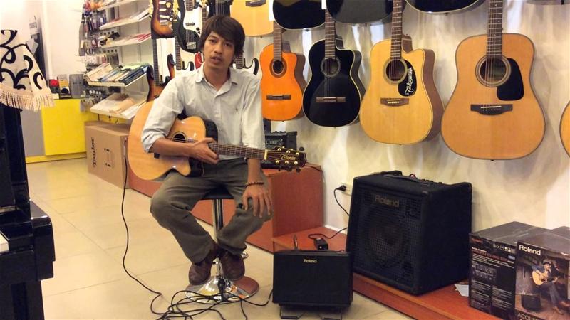 cách chọn mua đàn guitar acoustic