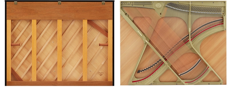bảng cộng hương piano kawai k400