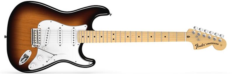 Fender American Special Stratocaster®, Maple Fingerboard, 2-Color Sunburst