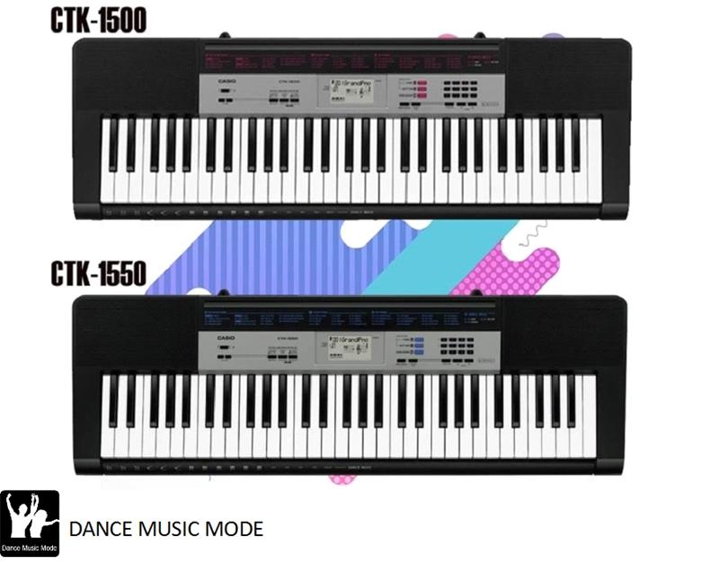 Đàn organ Casio CTK 1500/ Casio CTK 1550