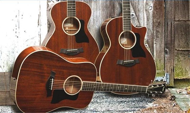 Đàn guitar Taylor bằng gỗ Mahogany