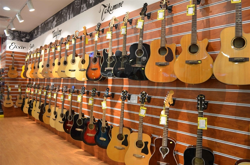 Bảng giá đàn guitar chính hãng mới nhất tại Việt Thanh