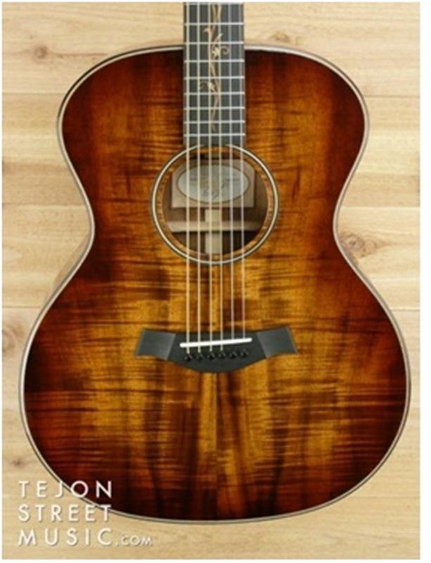 Đàn Taylor K24e làm từ gỗ Koa