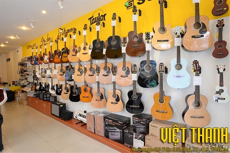 Các tiệm bán đàn Guitar uy tín tại Sài Gòn