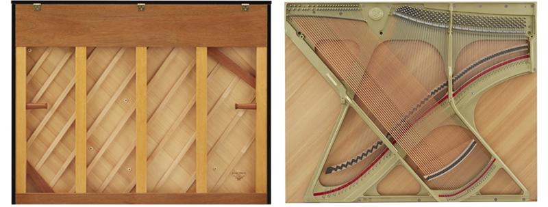 bảng cộng hưởng piano kawai k800