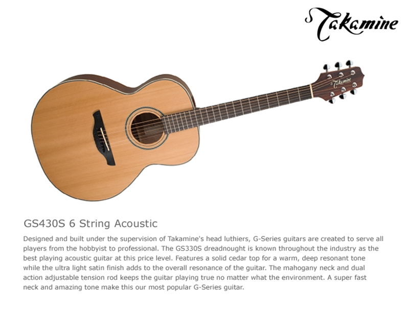 Đàn Guitar Takamine GS430S