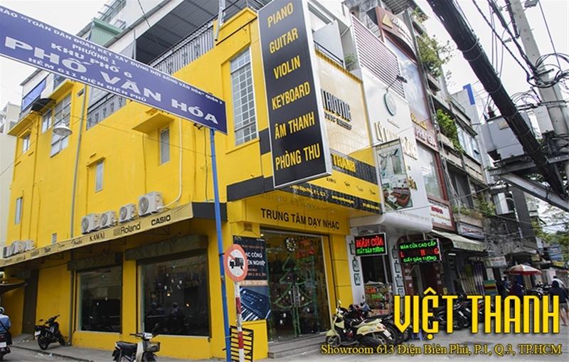 Cửa hàng bán đàn guitar điện ở Tphcm