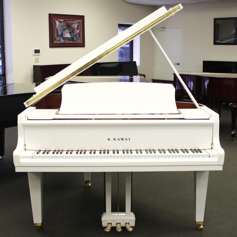 đàn piano kawai gl-10 màu trắng