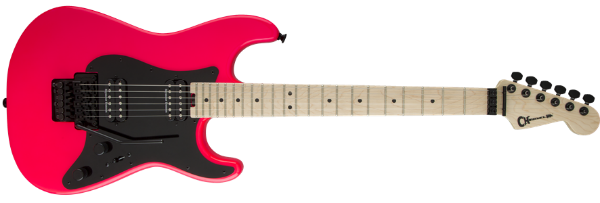 Charvel Pro-Mod So Cal Hh Fr, Neon Pink