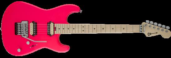 Charvel Pro-Mod San Dimas Hh Fr, Neon Pink