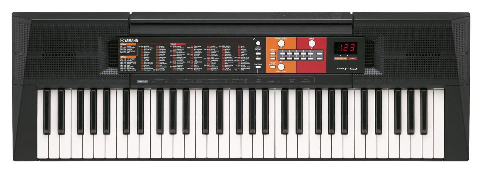 Shop Bán Đàn Organ Yamaha PSR-F51 Mới Nhất Nhập Từ Nhật Bản, Giá Tốt