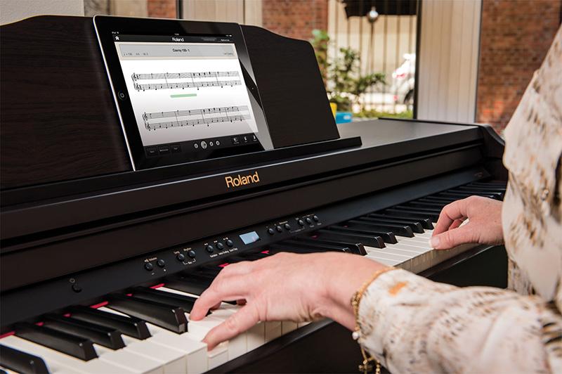 đàn piano roland rp-401r