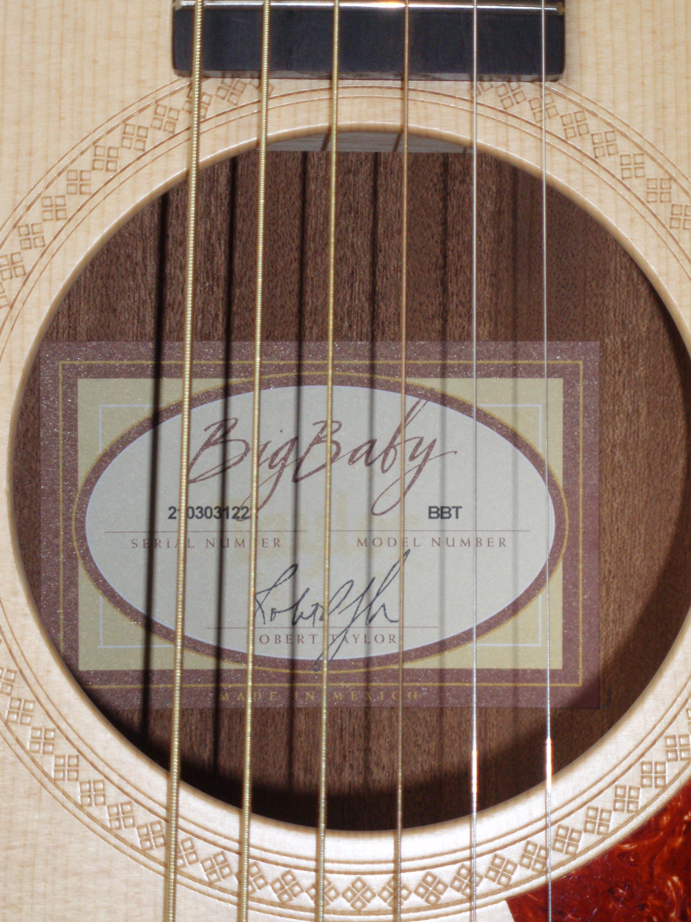 Đàn guitar Taylor BBTE