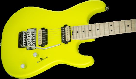 Charvel Pro-Mod San Dimas Hh Fr, Neon Yellow