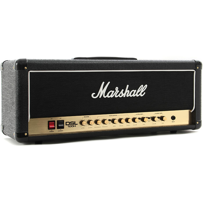 Marshall Half Stack DSL100H Head and MX412A Cabinet