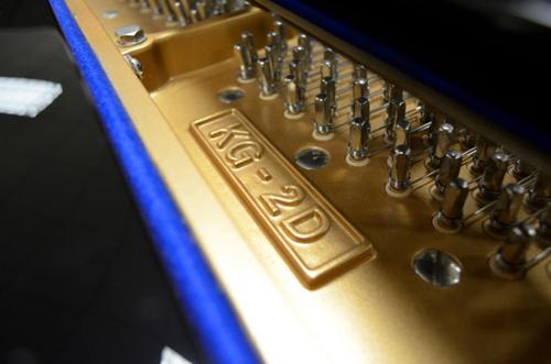 kí hiệu model KG-2D được khắc trên đàn