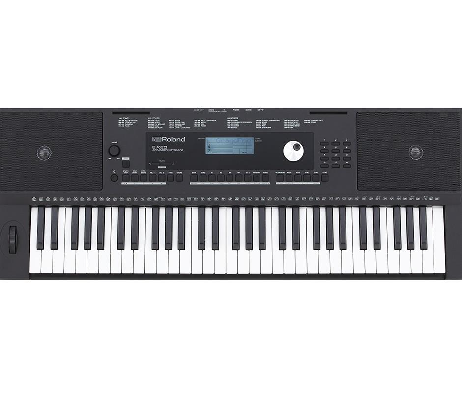 Dan Organ Roland E X20 Moi 2017 Hon 500 Cay Dang O Kho