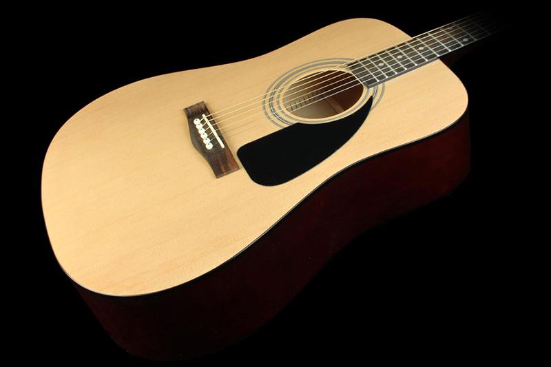 b n n guitar fender fa 100 with gig bag ch nh h ng gi t t. Black Bedroom Furniture Sets. Home Design Ideas