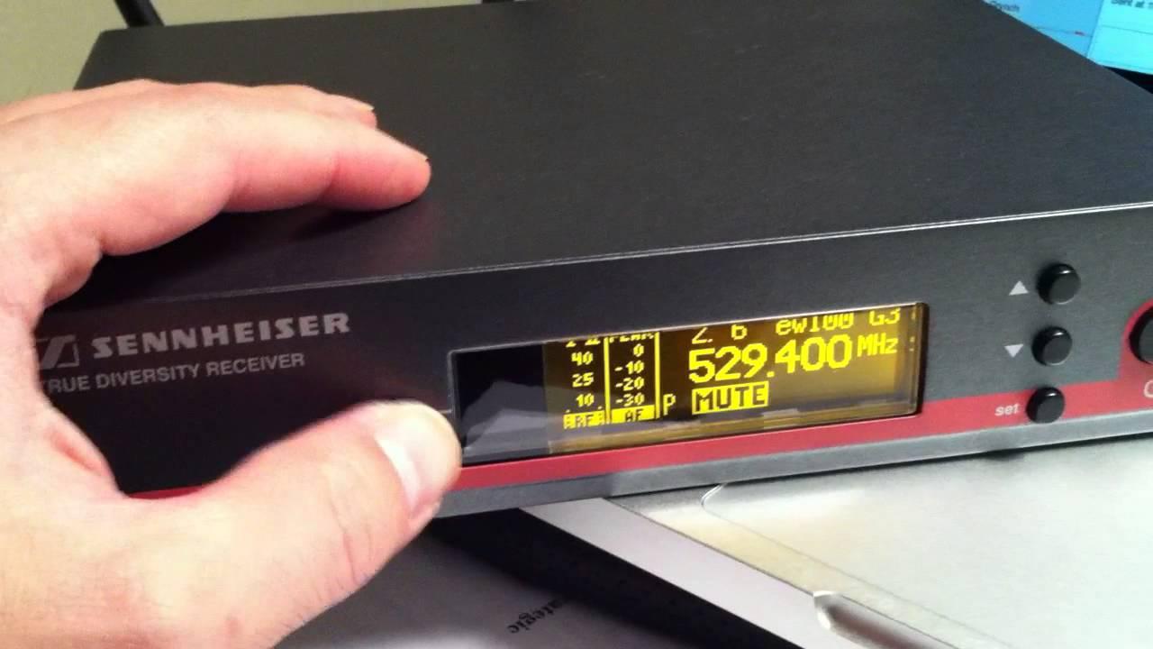 Micro Sennheiser EW-100G3 Series