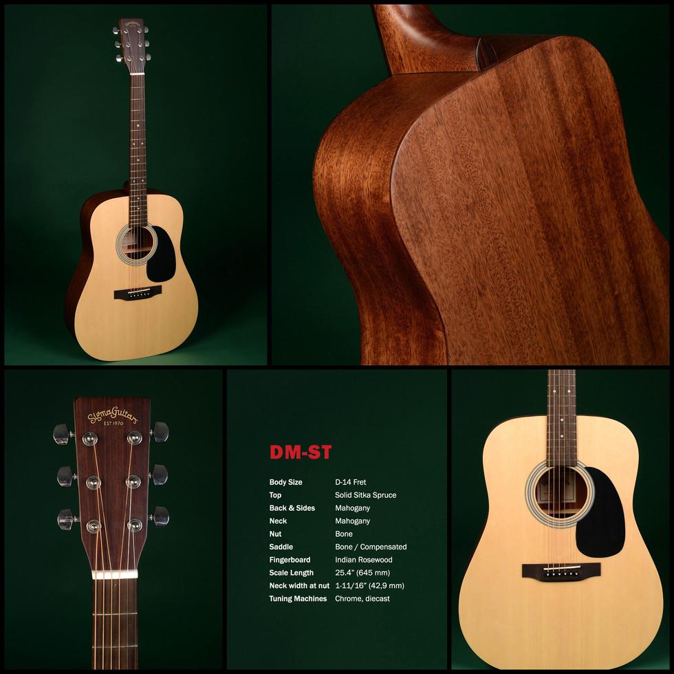 đàn guitar Sigma DM-ST