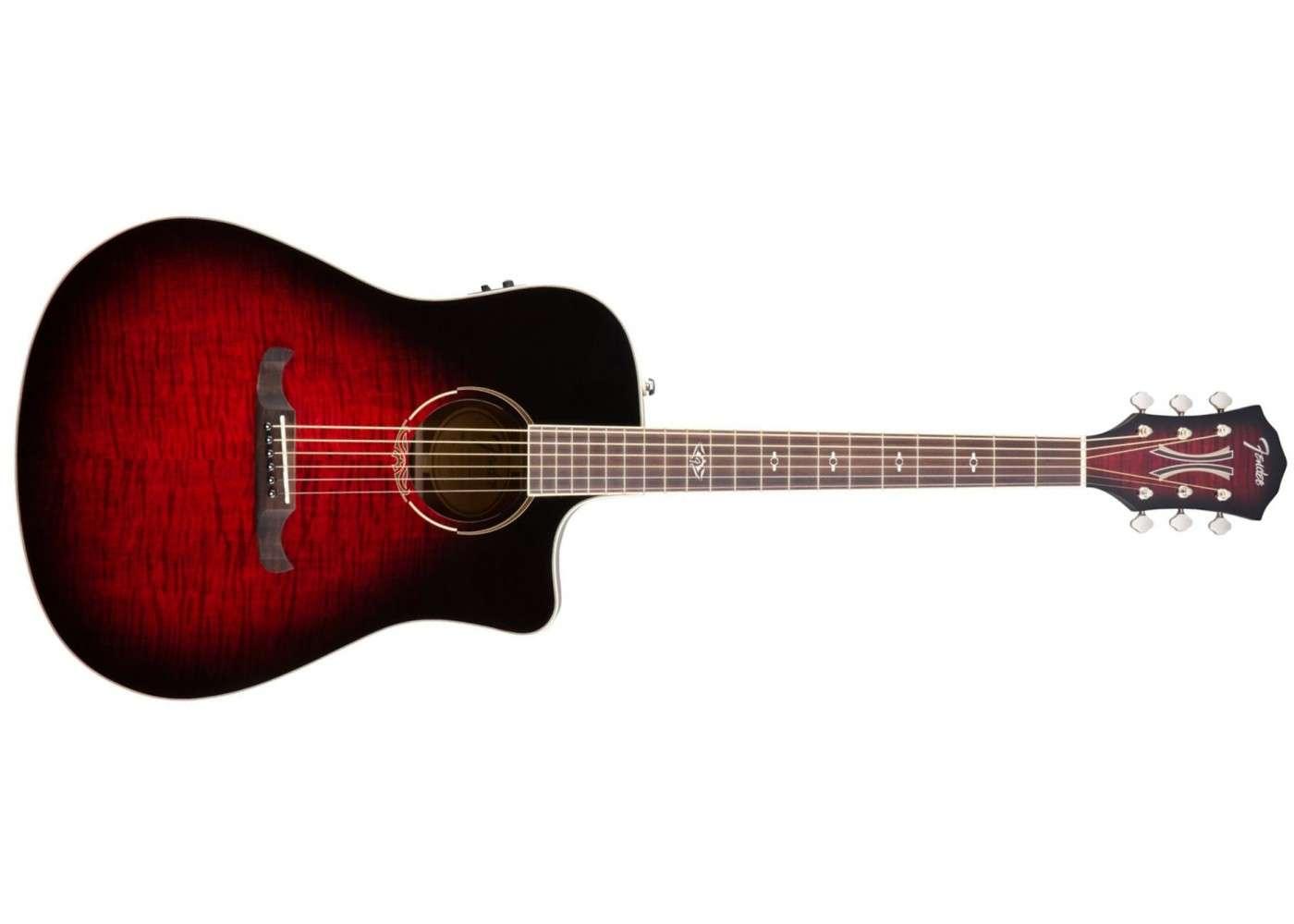 Fender T- Bucket 300-CE Flame Maple, 3TS