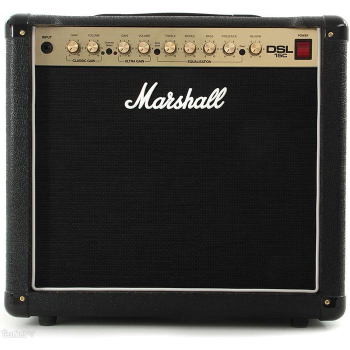 "Marshall DSL15C 1x12"" 15-Watt 2-Channel Tube Combo"
