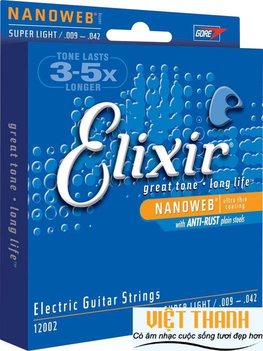 Elixir Electric Guitar NanoWeb 12002
