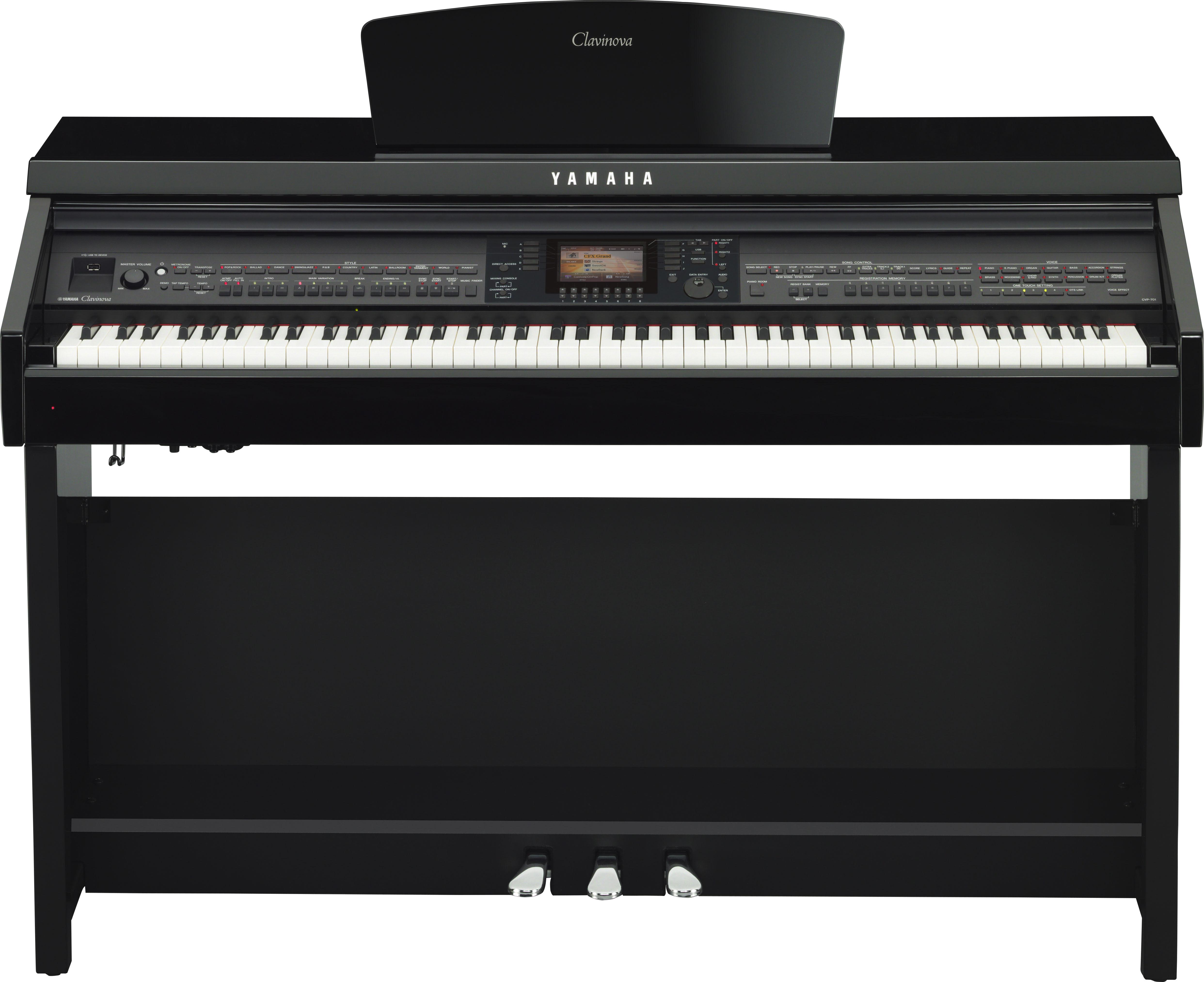 Đàn Piano Điện Yamaha Clavinovas CVP-701B