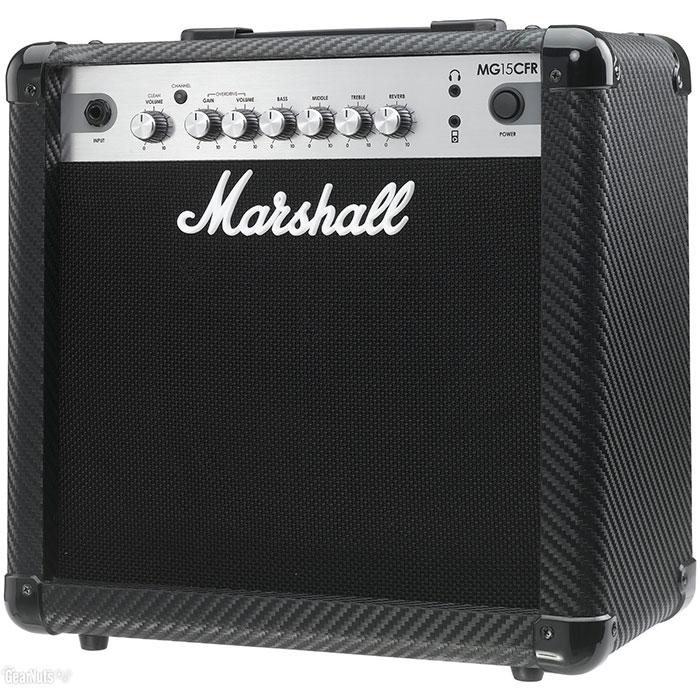 "Marshall MG15CFR 1x8"" 15-Watt 2-Channel Combo w/ Reverb"