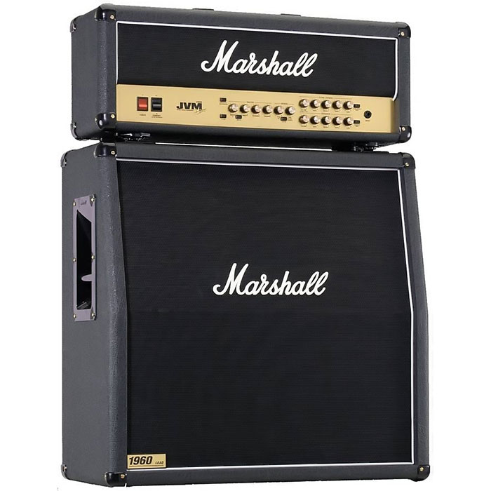 Marshall Half Stack JVM210H head & 1960AV or 1960AX cabinet