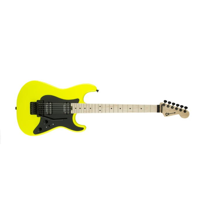 Charvel Pro-Mod So Cal Hh Fr, Neon Yellow