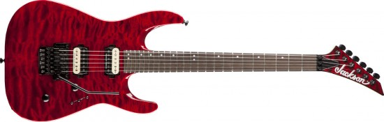 Jackson DK2Q Dinky Trans Red